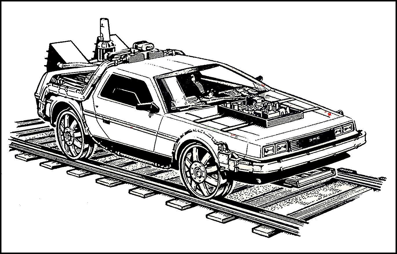 Delorean Volver Al Futuro Regreso Al Futuro Vehiculos Futuristas