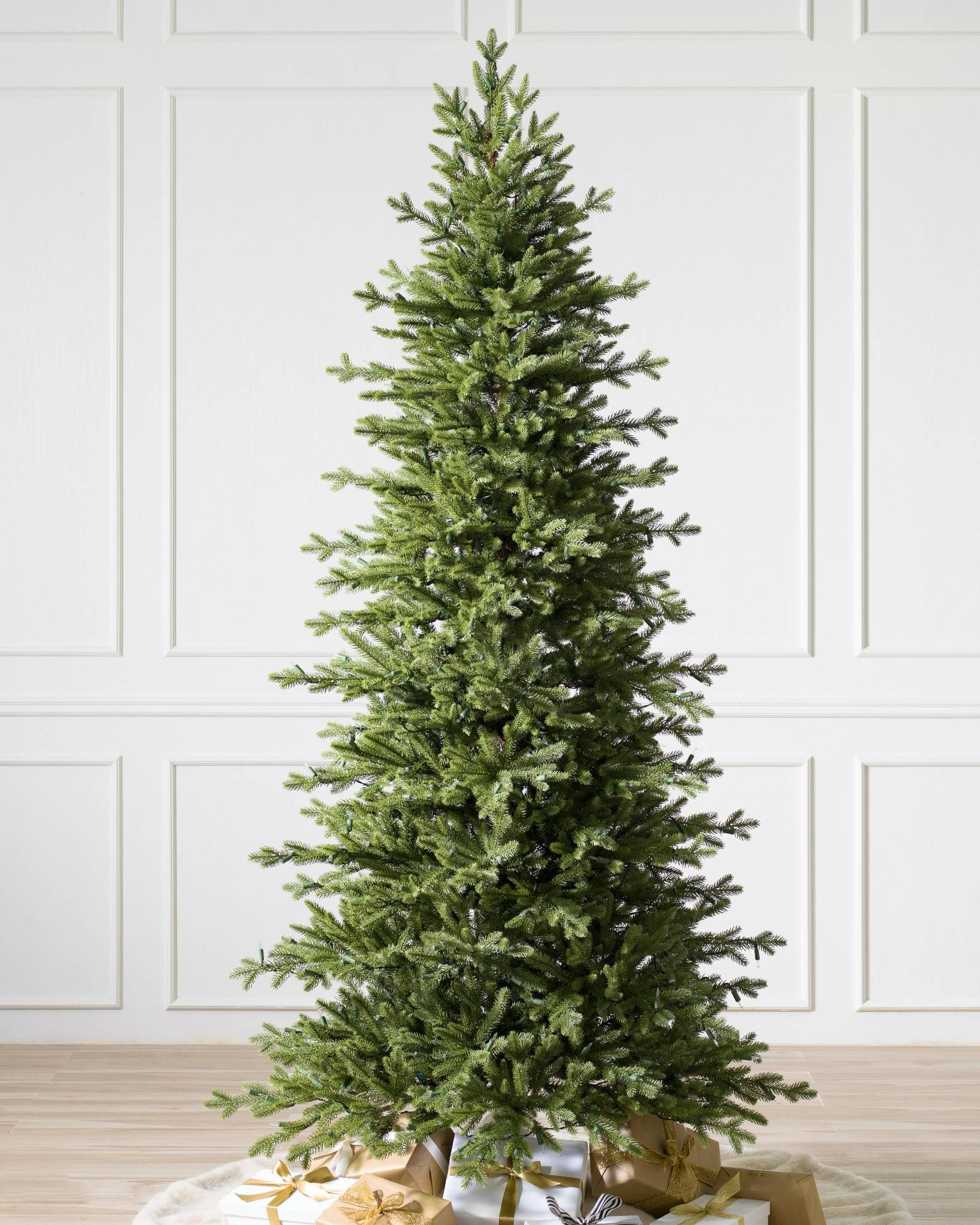 Red Spruce Slim Realistic Artificial Christmas Trees Slim