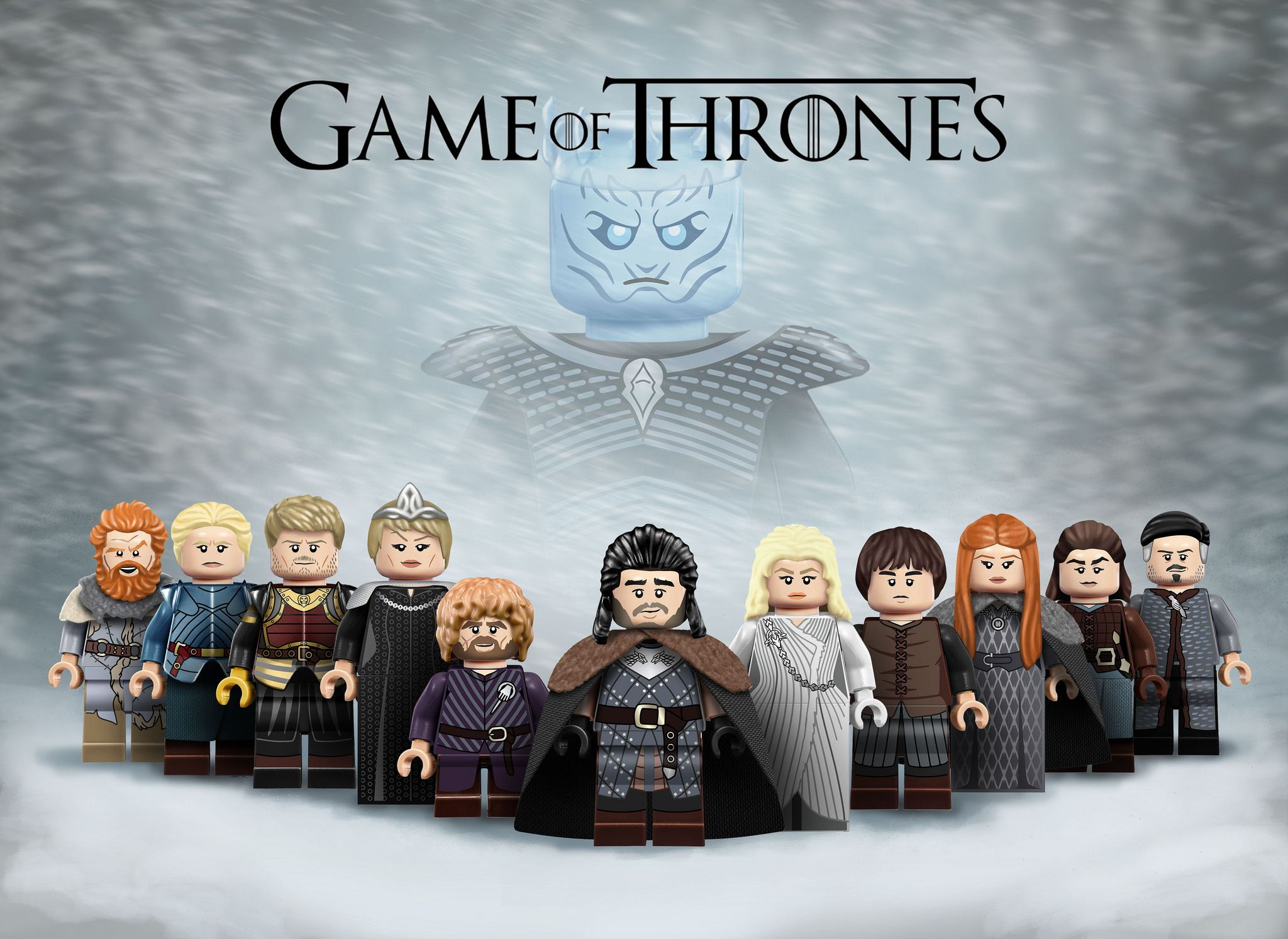 Immaculé Minifigure Game Of Thrones