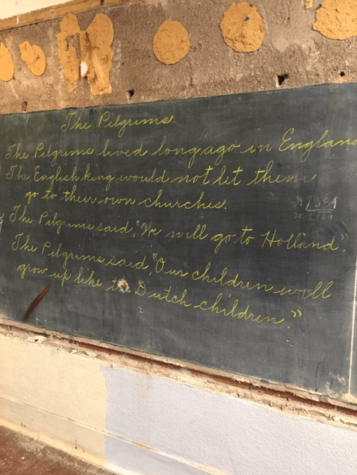 School Stumbles Upon Chalkboards From 1917 During Renovation Perfectly Preserved Lessons Provide Rare Look Into Past Chalkboard Drawings Chalkboard Lesson