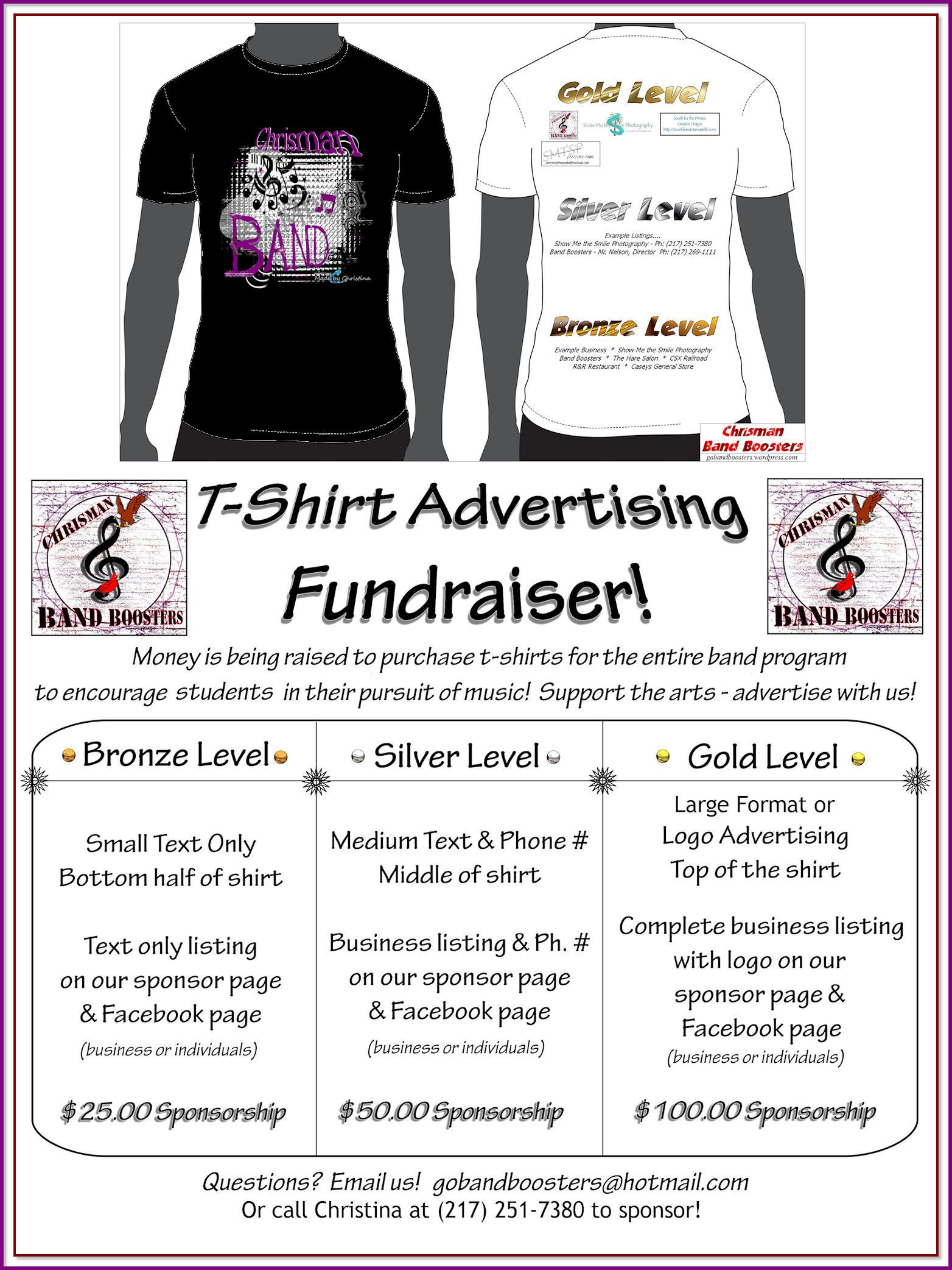 t-shirt fundraiser! | fundraiser possibilities | pinterest
