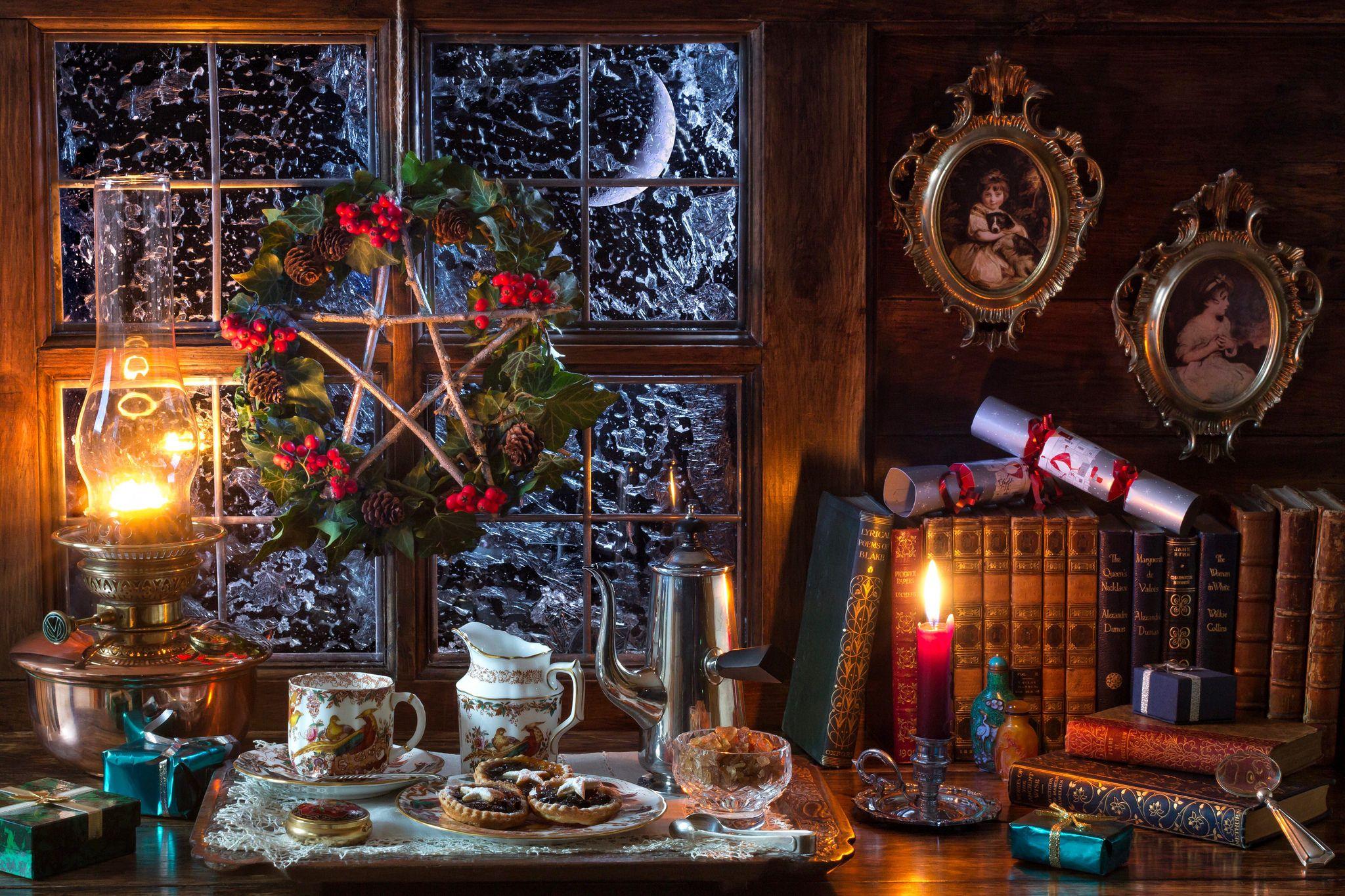 картинки уютные новогодние старинные пусть для мамы
