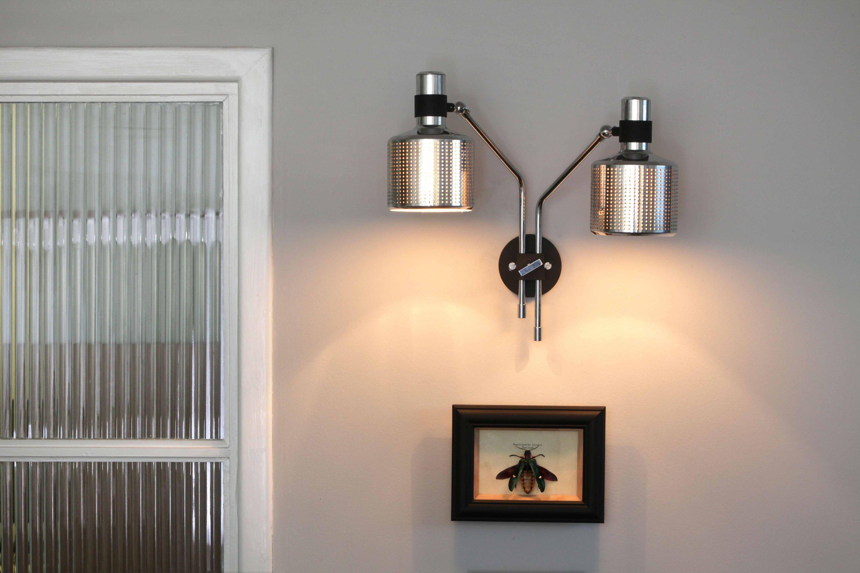Riddle Wall Light White Brass De Bert Frank Appliques En Laiton Eclairage Mural Mobilier Design