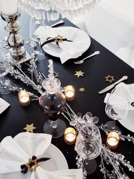Decoraci n para la mesa de fin de a o navidad cap and - Decoracion fin de ano ...