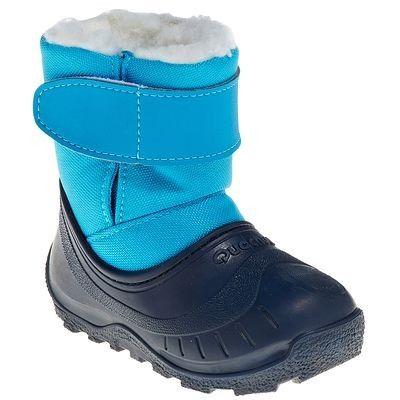RANDONNEE Habillement Junior Bebe Chaussures , Bottes neige bébé Bibou  QUECHUA , Enfant