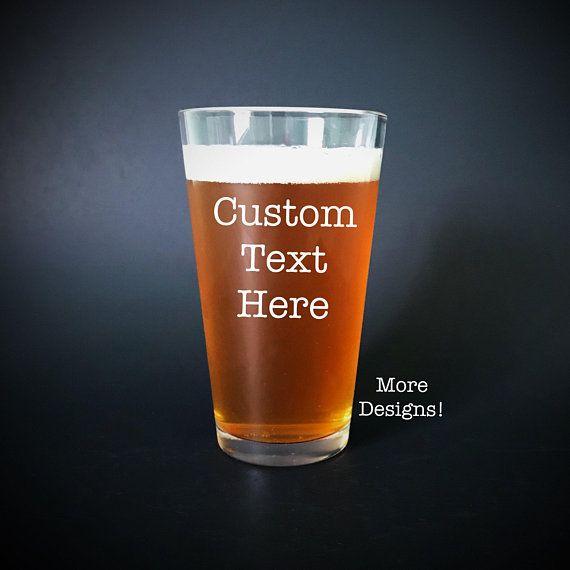 custom beer glasses custom beer mug personalized beer glass