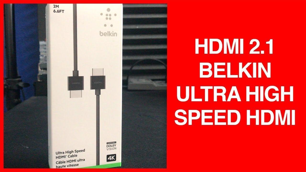 belkin hdmi 2.1  HDMI 2.1 Spec | Belkin Ultra High Speed HDMI Cable | Videos ...
