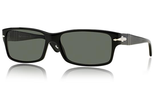 PERSOL Persol Herren Sonnenbrille » PO2803S«, schwarz, 95/58 - schwarz/grün