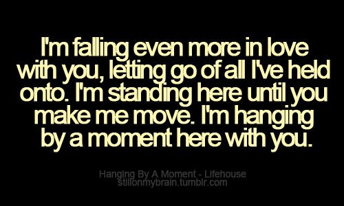 I M Falling Even More In Love With You Lyrics