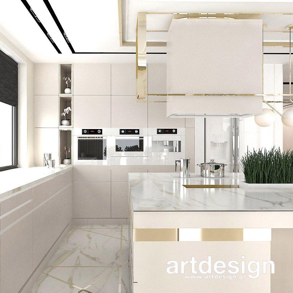 Aranzacje Kuchni Inspiracje Heart Of Gold Wnetrza Domu Luxury Kitchen Design Kitchen Decor Modern Kitchen Ceiling Design