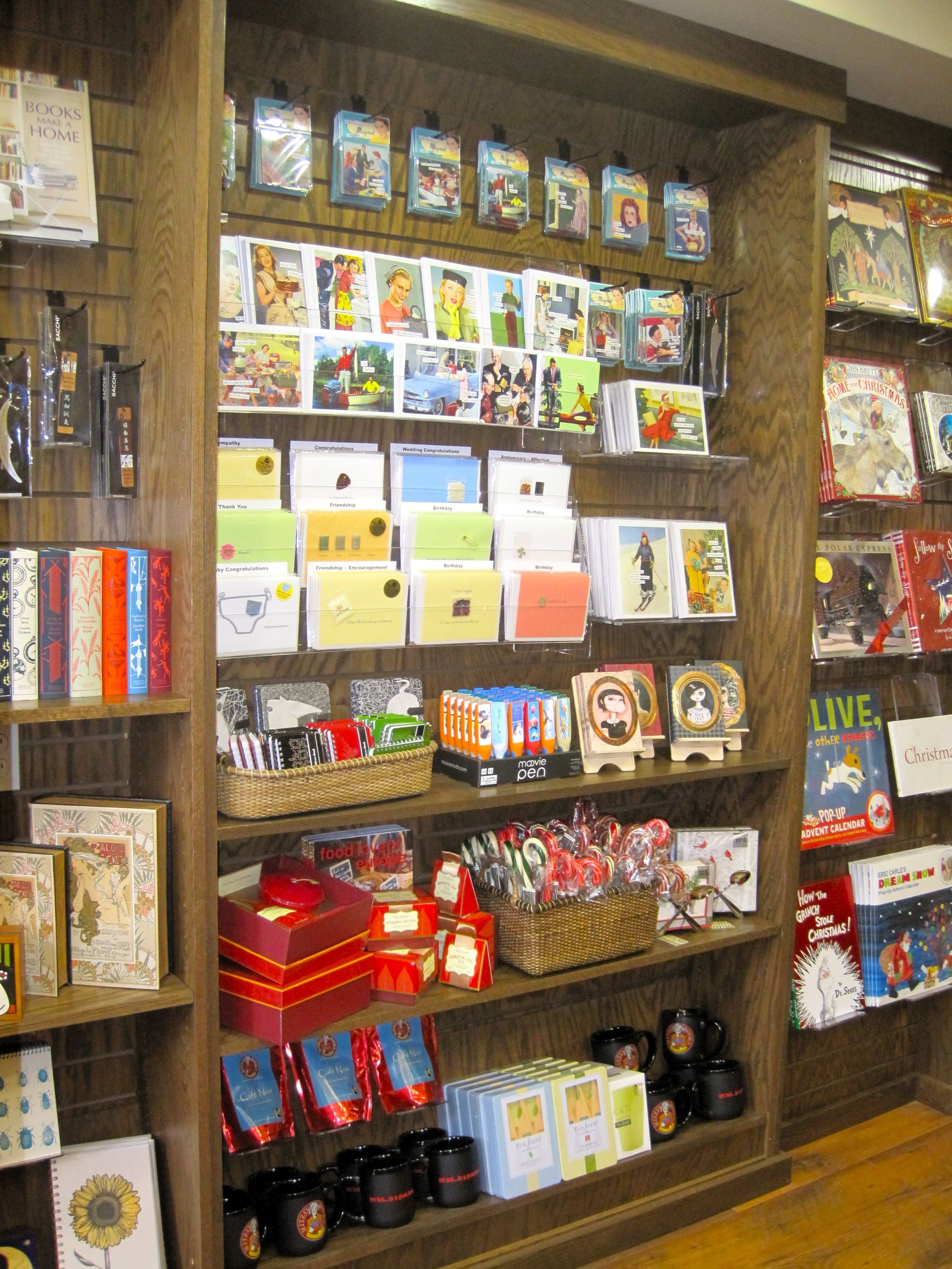 Using Card Strips Above We Mixed Merchandise Here In This Case By