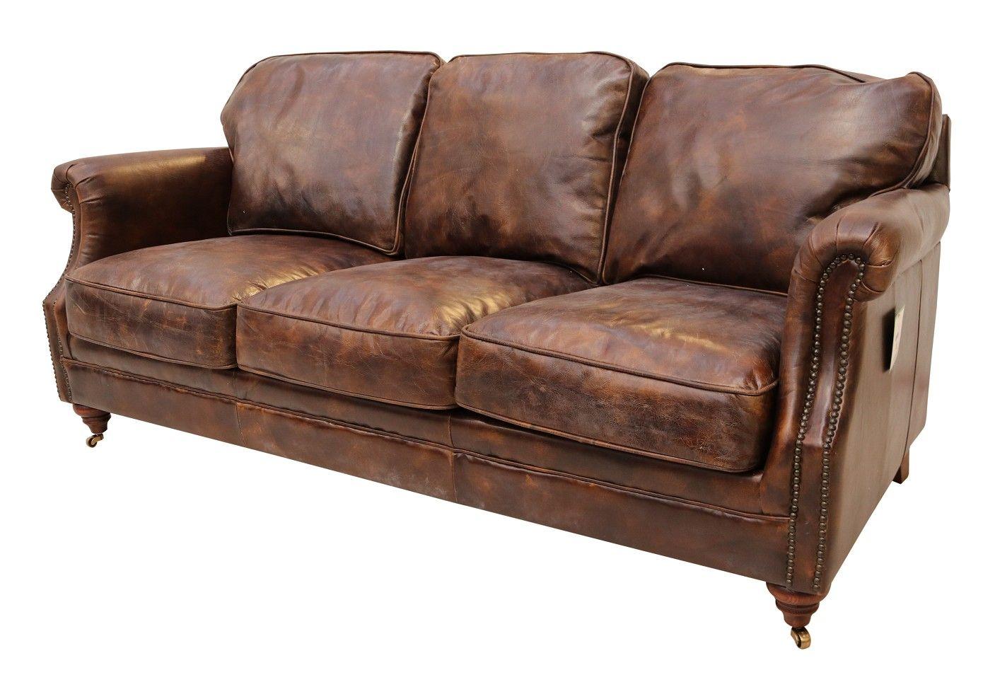 Luxury Vintage Distressed Leather 3