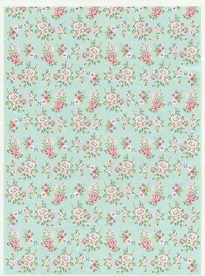 Rice #paper for decoupage decopatch scrapbook #craft sheet vintage shabby #roses,  View more on the LINK: 	http://www.zeppy.io/product/gb/2/191835908921/