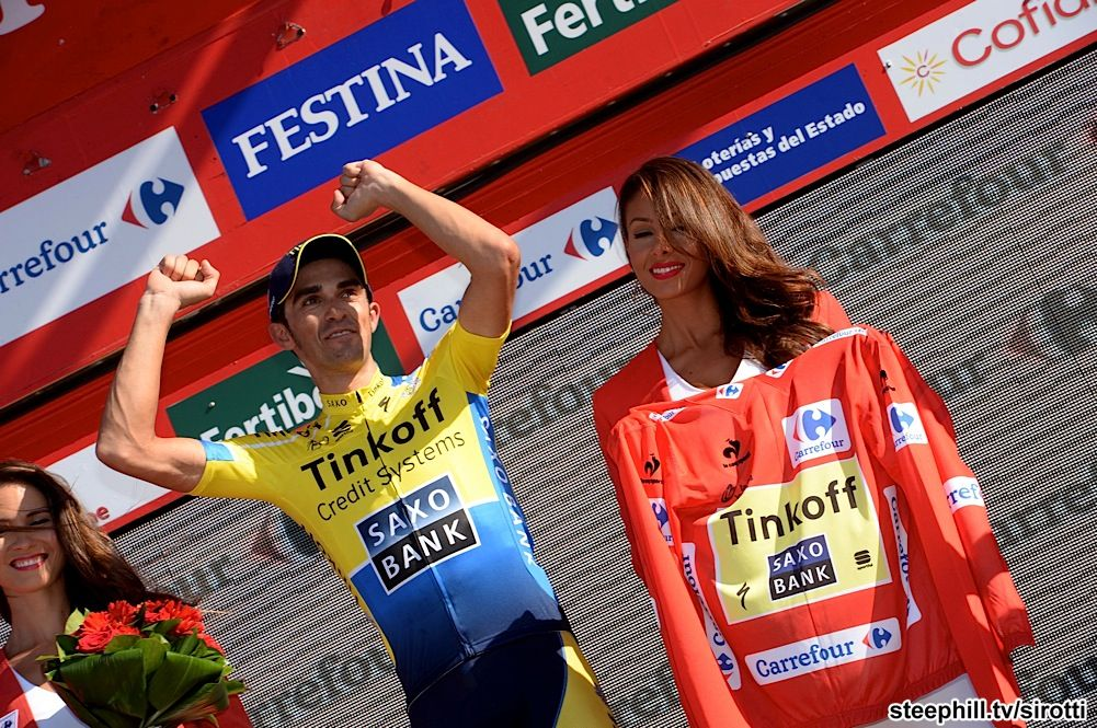 2014 vuelta-a-espana photos stage-10 - A big day for Alberto Contador (Tinkoff - Saxo) as well