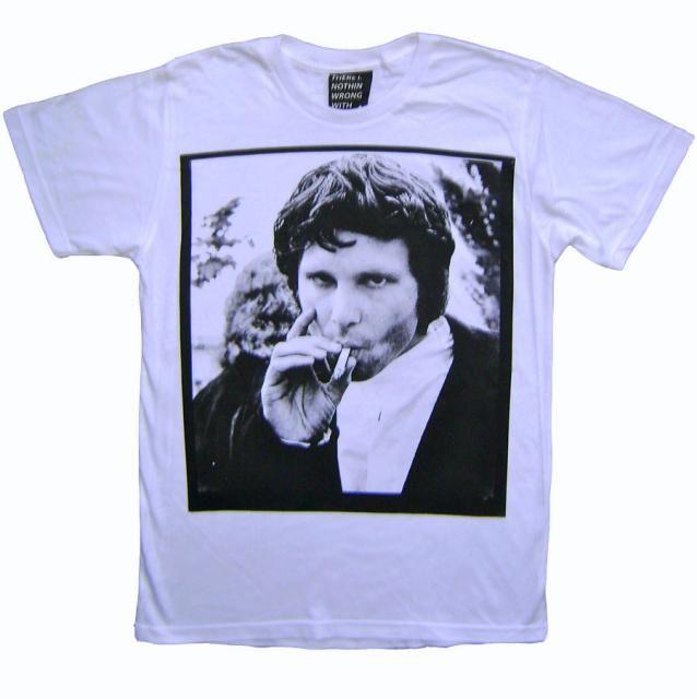 The Doors Jim Morrison \ Smoking\  T-Shirt  sc 1 st  Pinterest & JIM MORRISON SMOKIN\u0027 DOORS T-SHIRT | Cool Clothes | Pinterest | Jim ...