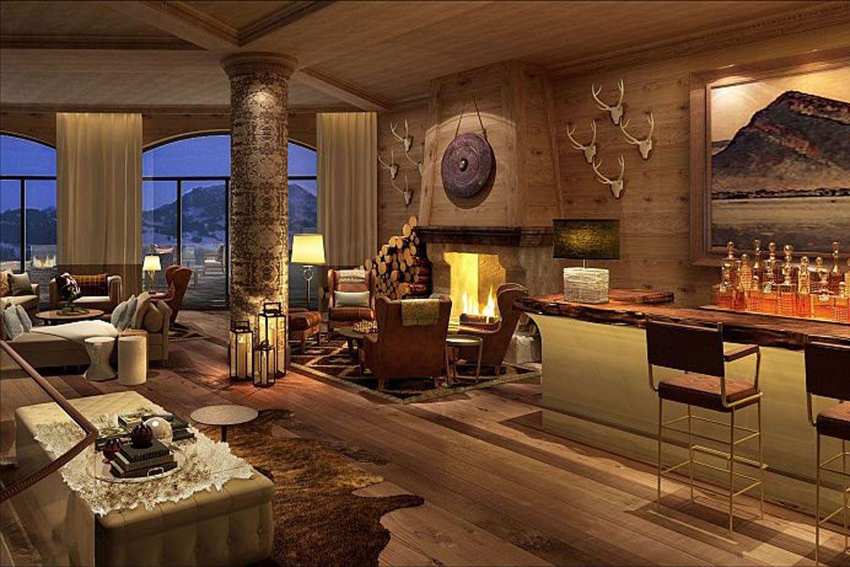 Un Romance Alpino Cabanas De Madera Modernos Casas De Lujo Hoteles De Lujo