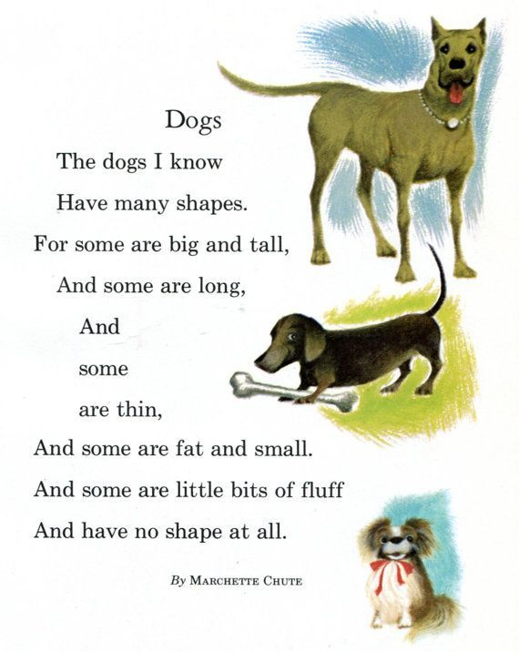 Poems About Dogs For Kids Google Search Hunde Gedichte Gedichte Fur Kinder Poesie Fur Kinder