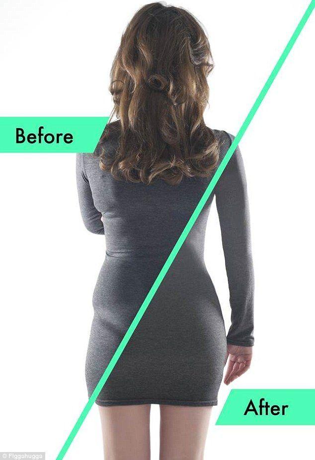 2c628ad8a7b Het effect van corrigerend ondergoed, met shapewear kun je zoals je ...