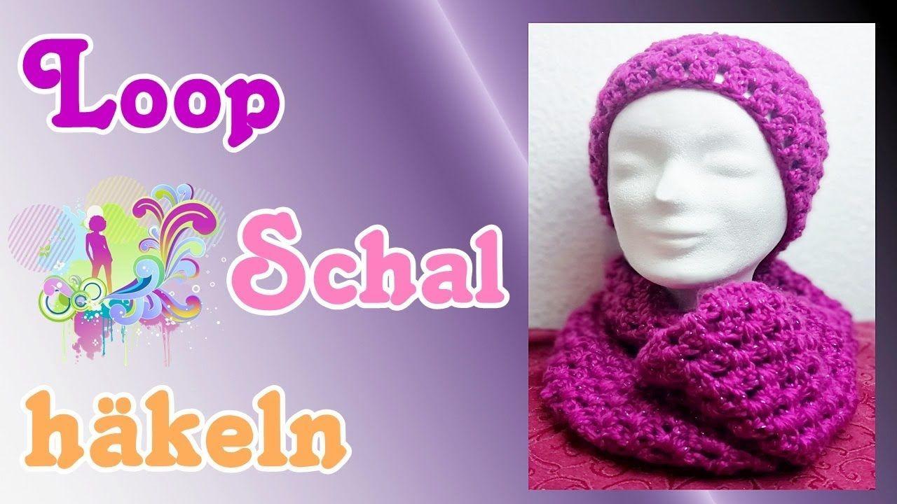Loop Schal Und Stirnband Häkeln Loop Häkeln Mit Dicker Wolle