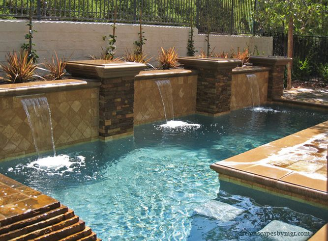 impactful southern california swimming pool and landscaping design dreamscapes by mgr - Swimming Pool And Landscape Designs