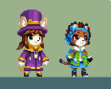 Corgi Kid And Bow Cat By Tysontan A Hat In Time A Hat In Time Hat In Time Hat In Time Art