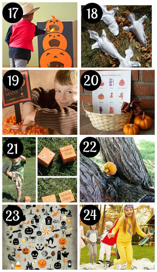 66 fantastic halloween games for the whole family