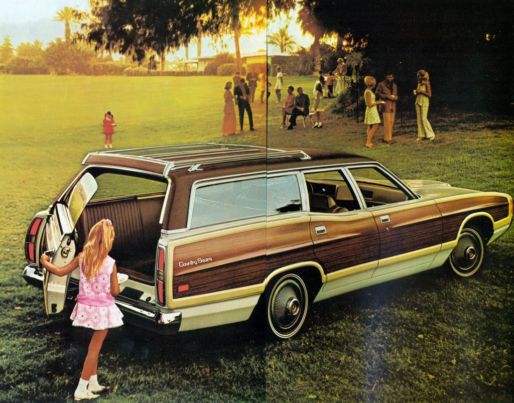 70 s every family owned a station wagon
