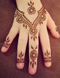 Very Simple Mehndi Designs For Beginners For Hand For Kids