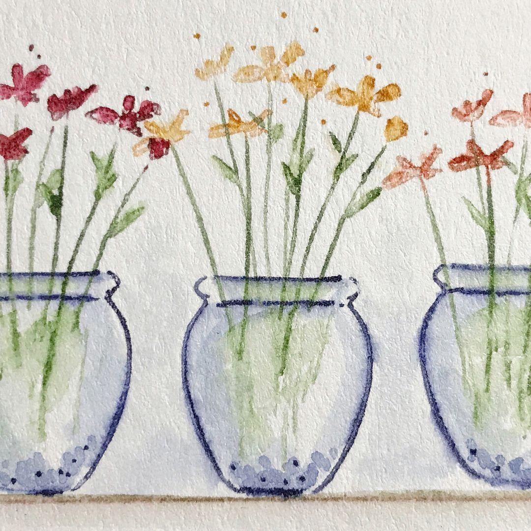 Art Impressions Watercolor Weekend