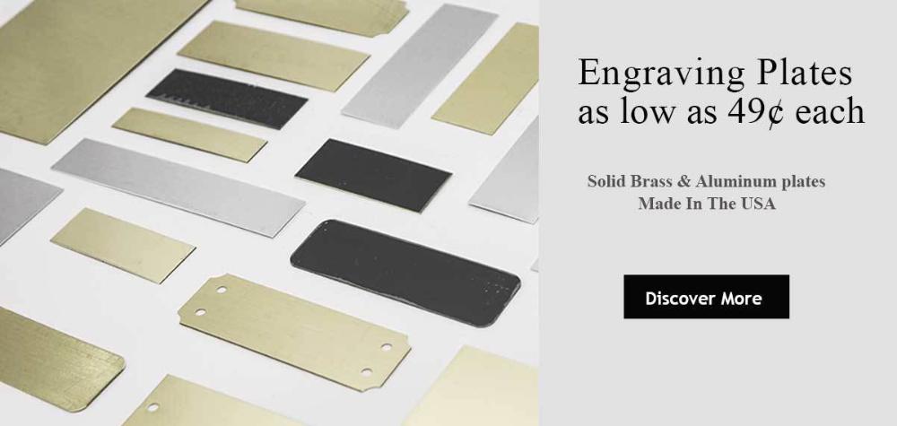Custom Engraving Plates Made In Usa Wholesale Brass Aluminum Blank Plates Steel Sheet Metal Metal Business Cards Custom Engraving