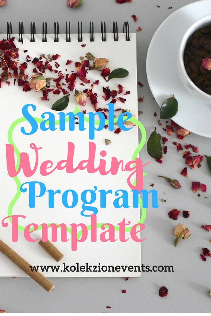 how to create a wedding program online wedding planner wedding