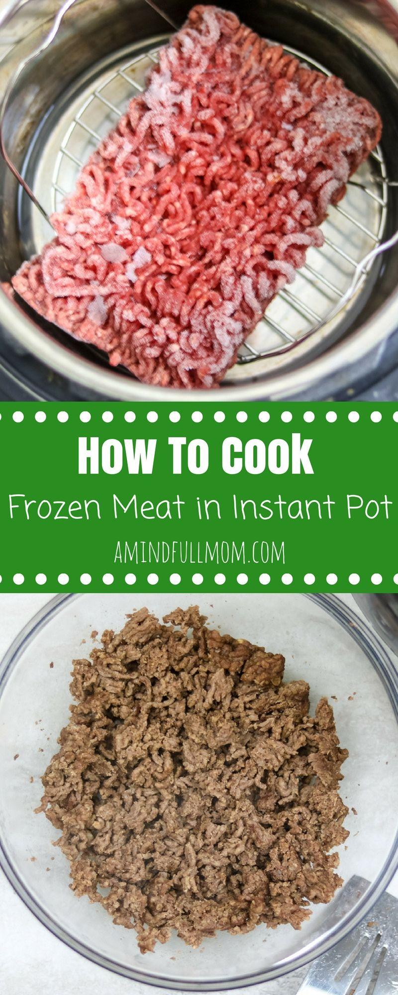 Instant Pot Ground Beef: The BEST way to make ground beef ...