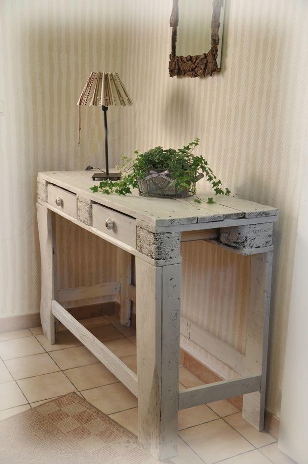 Sideboard aus Palette Diy palettenmöbel, Recycelte möbel