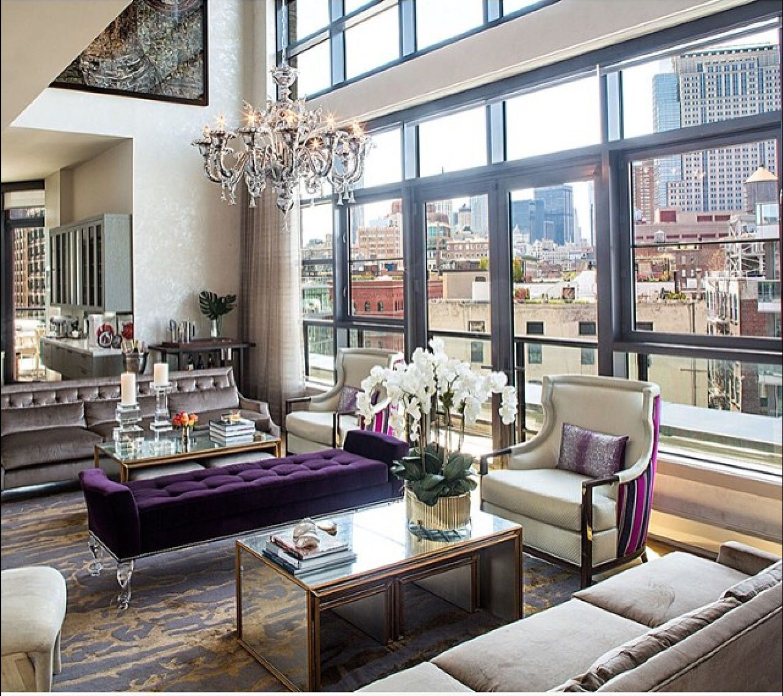 Home Decor 2012 Luxury Homes Interior Decoration Living: Living Room Decor Purple, Dream House