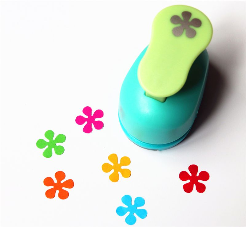 Craft Paper Punches Flowers Free Ship 3 8 1cm Flower Punch
