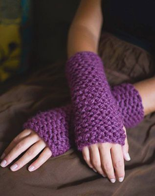 Learn To #Knit #Cuffs #MichaelsStores