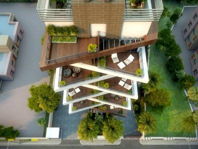 Apartment Building Elevation Designs apartment 3d elevation design | design | pinterest | 3d