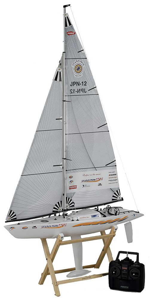 Sea Dolphin 770 II Almost Ready to Sail - Radio Control Sailboat