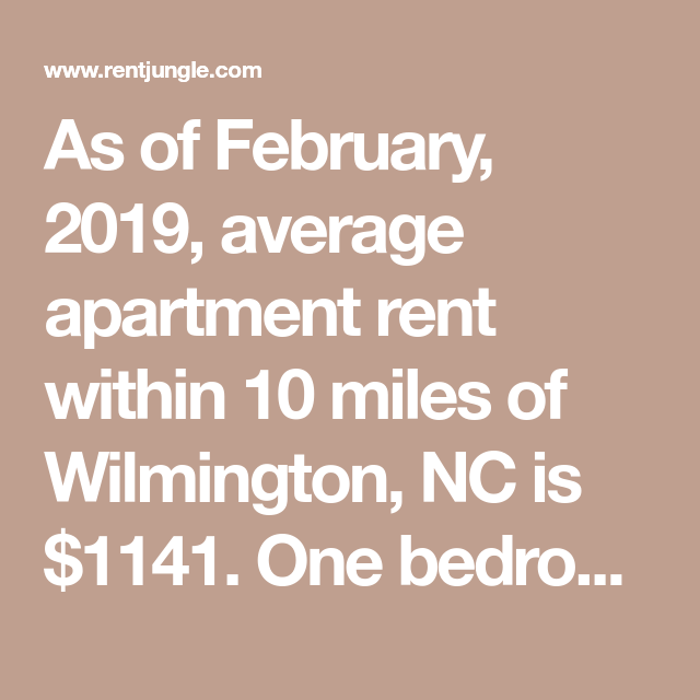 as of february 2019 average apartment rent within 10
