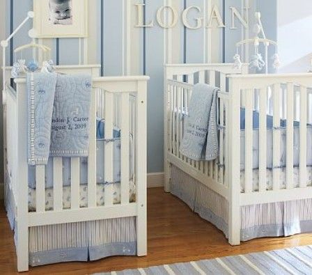 Baby boy room colour idea. Grey and blue. | Babies\' Room | Pinterest ...