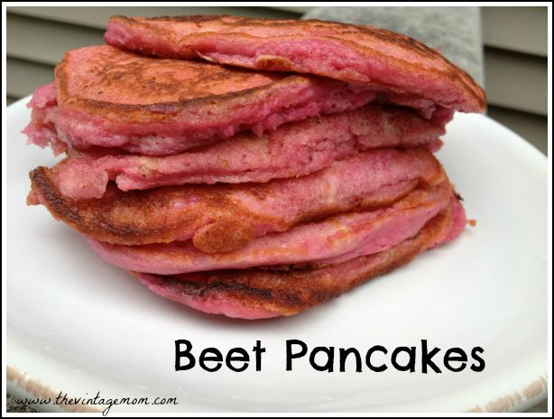 A recipe combining fresh roasted beets with a classic pancake recipe. Perfect for family dinners, breakfast or brunch!