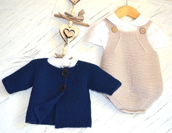 Knitting Pattern Spring Into Summer Baby All In One Romper And