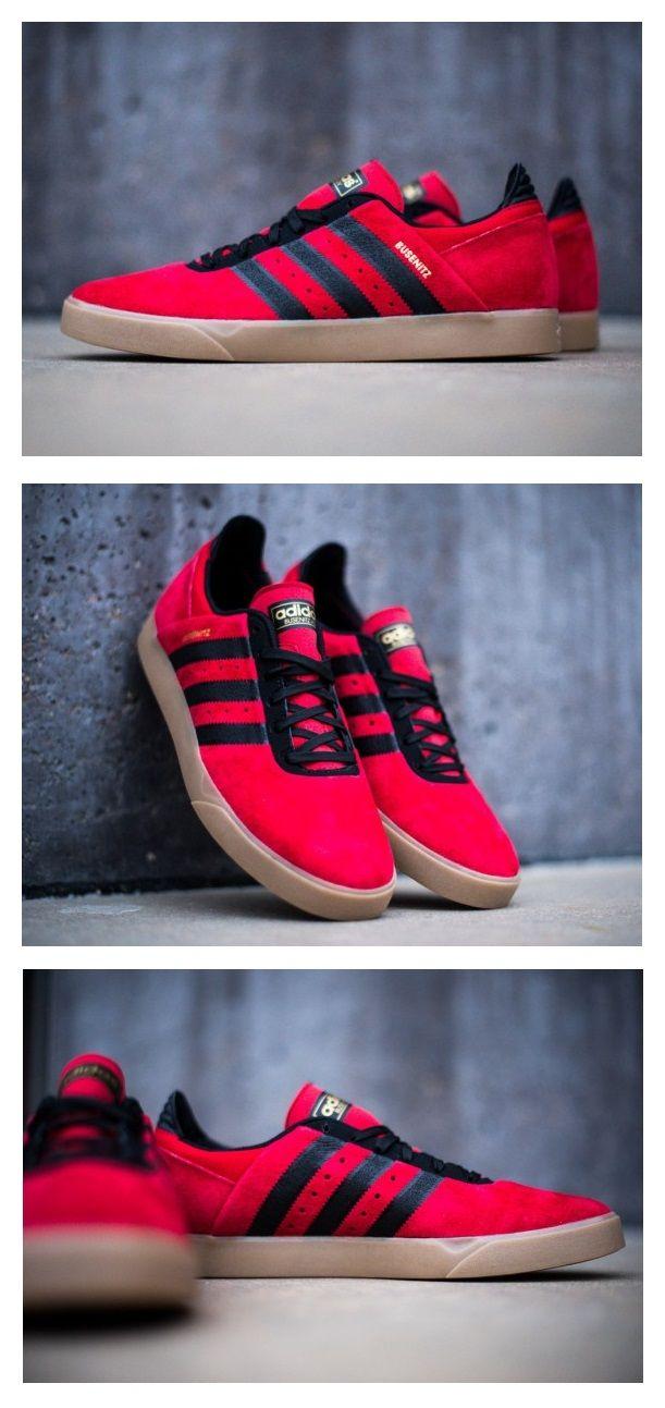 Adidas Busenitz ADV: RedBlackGum | Fashion & Style