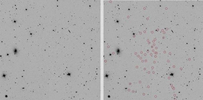 """Nearby galaxy is a """"fossil"""" from the early universe"""