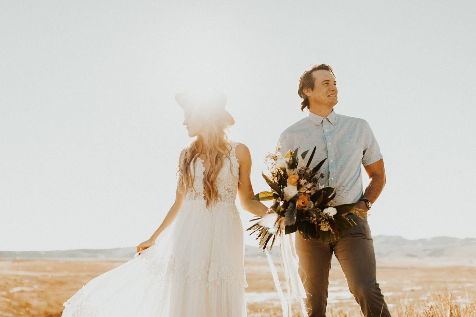 Glowing fort collins wedding inspiration wedding