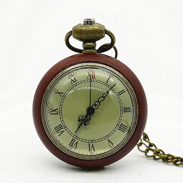 Vintage Men's Classic-Style Pocket Watch