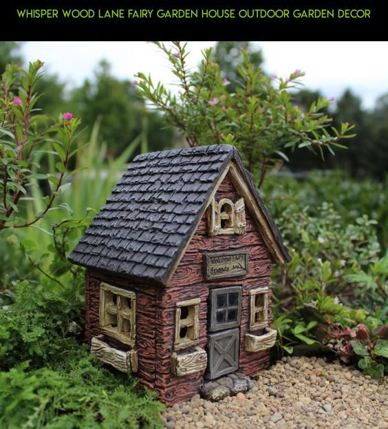 Whisper Wood Lane Fairy Garden House Outdoor Garden Decor #kit #gadgets #tech #technology #shopping #house #fpv #drone #racing #outdoor #camera #parts #decor #plans #products