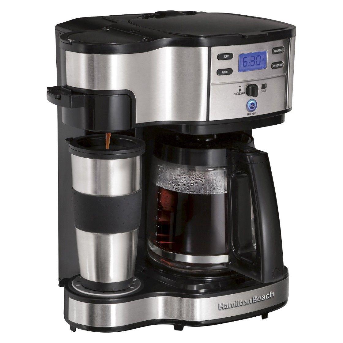 Hamilton Beach Black 2Way Brewer Coffee maker reviews