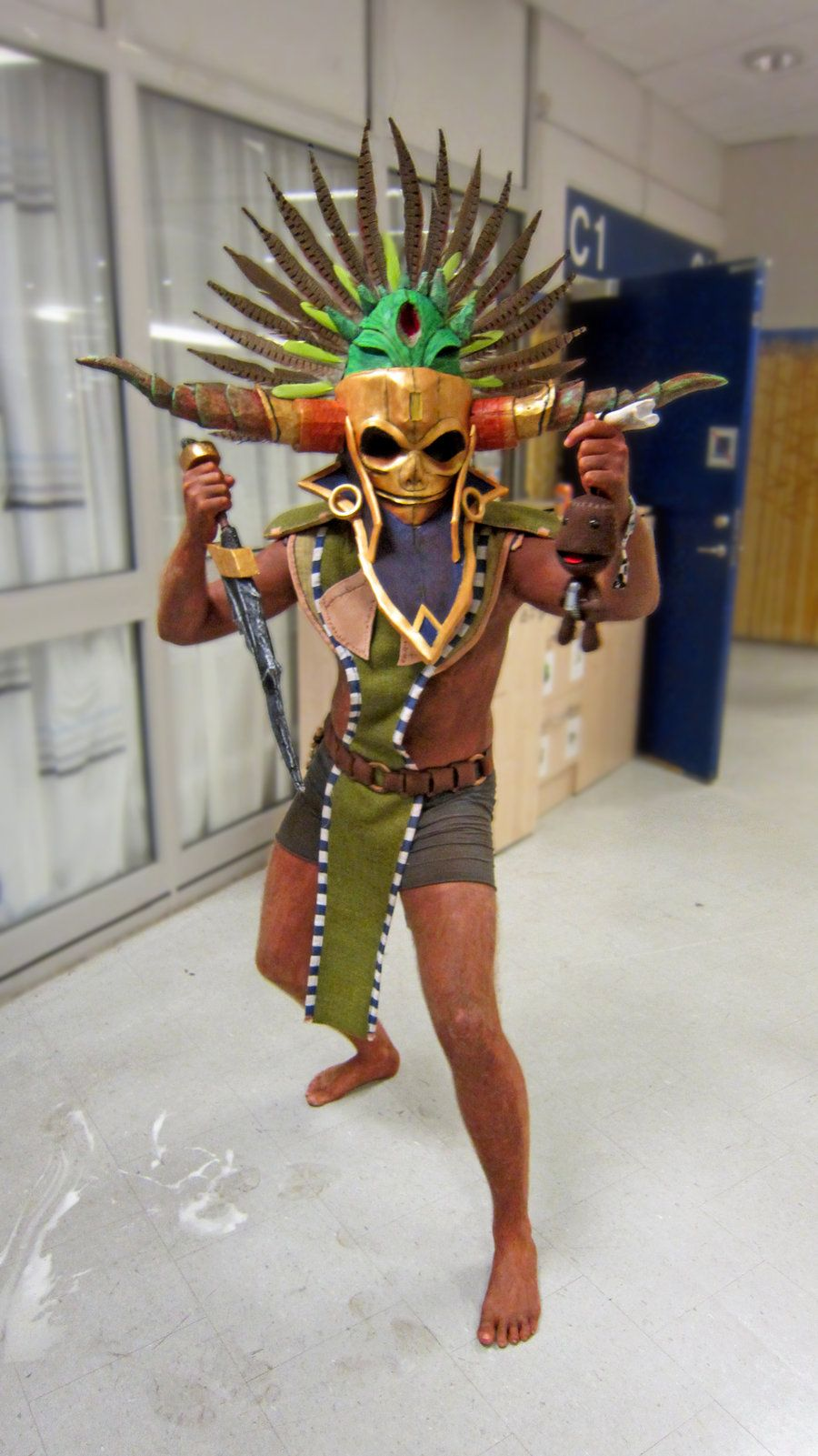 Witch Doctor Cosplay (male) summer of 2012 by ~BrakeHeart on ...