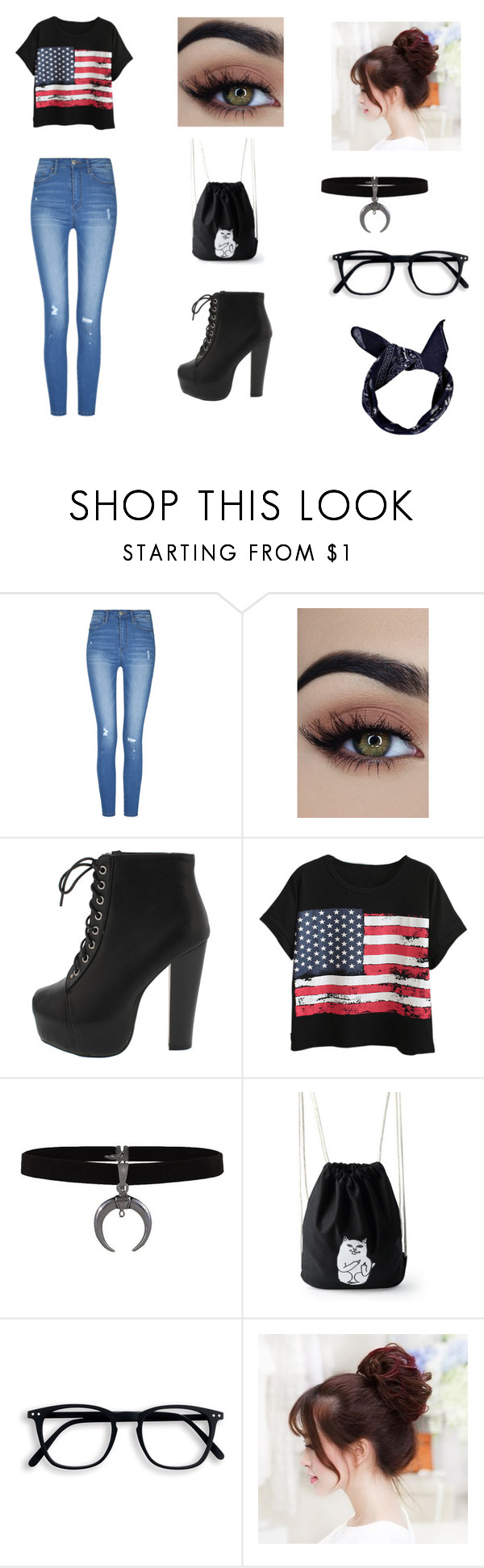 """""""Everyday outfit."""" by ebonyadelle2 on Polyvore featuring Chicnova Fashion and Boohoo"""
